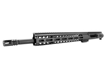 16 inch AR-15 LEFT HANDED AR-15 Non Reciprocating Side Charging 350 Legend M-LOK Melonite Upper