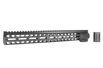 Bowden Tactical 17 inch M-LOK Handguard FRee Float Rail