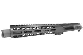 8.5 inch AR-15 LEFT HANDED AR-15 Non Reciprocating Side Charging 300 Blackout Upper w/Can